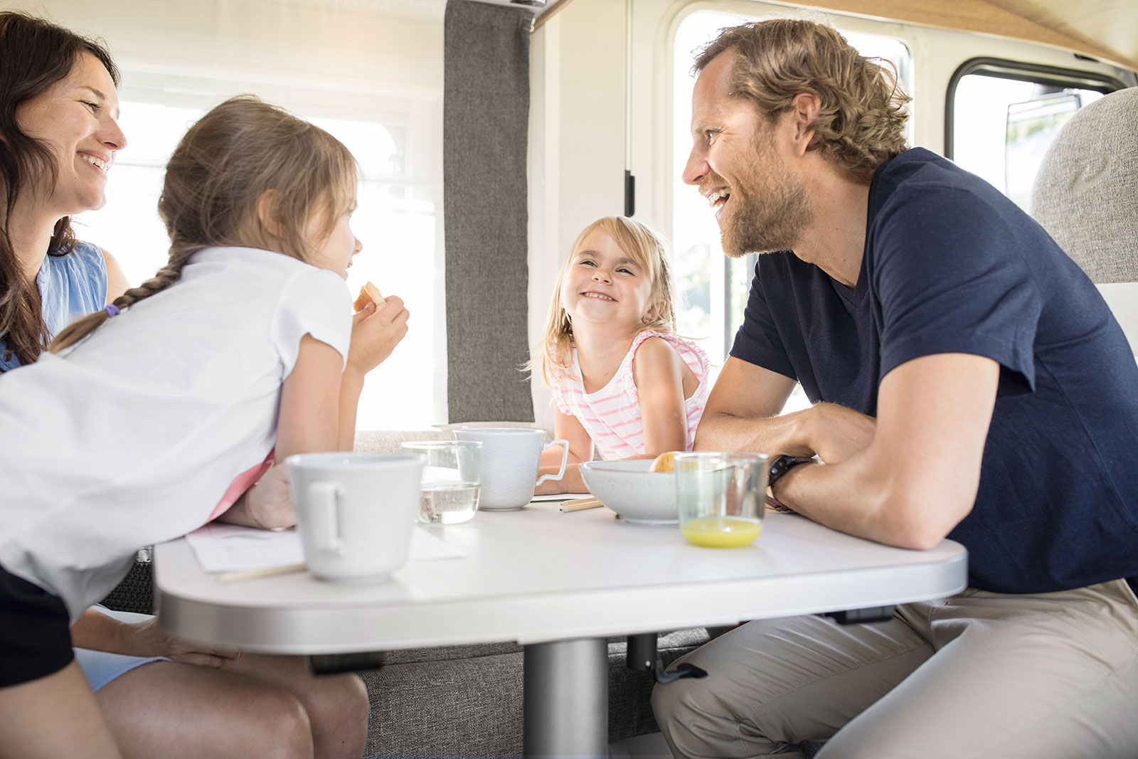 The Trend for families: enjoy relaxed camping holidays thanks to practical and functional family layouts